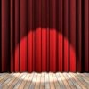 Theater curtains icon
