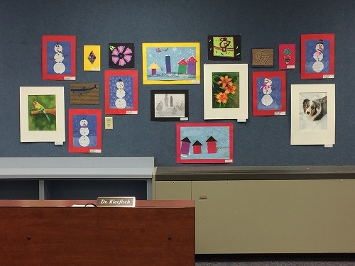 Artwork from K-12 Art Students.