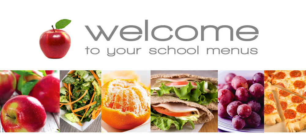 Welcome to your school menus icon