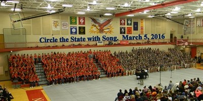 Circle the State with Song 2016