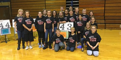 Elem Spell Bowl - 2nd Place 11/17/16