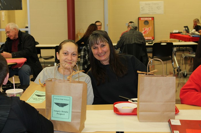 Attendees at Empty Bowls 2017