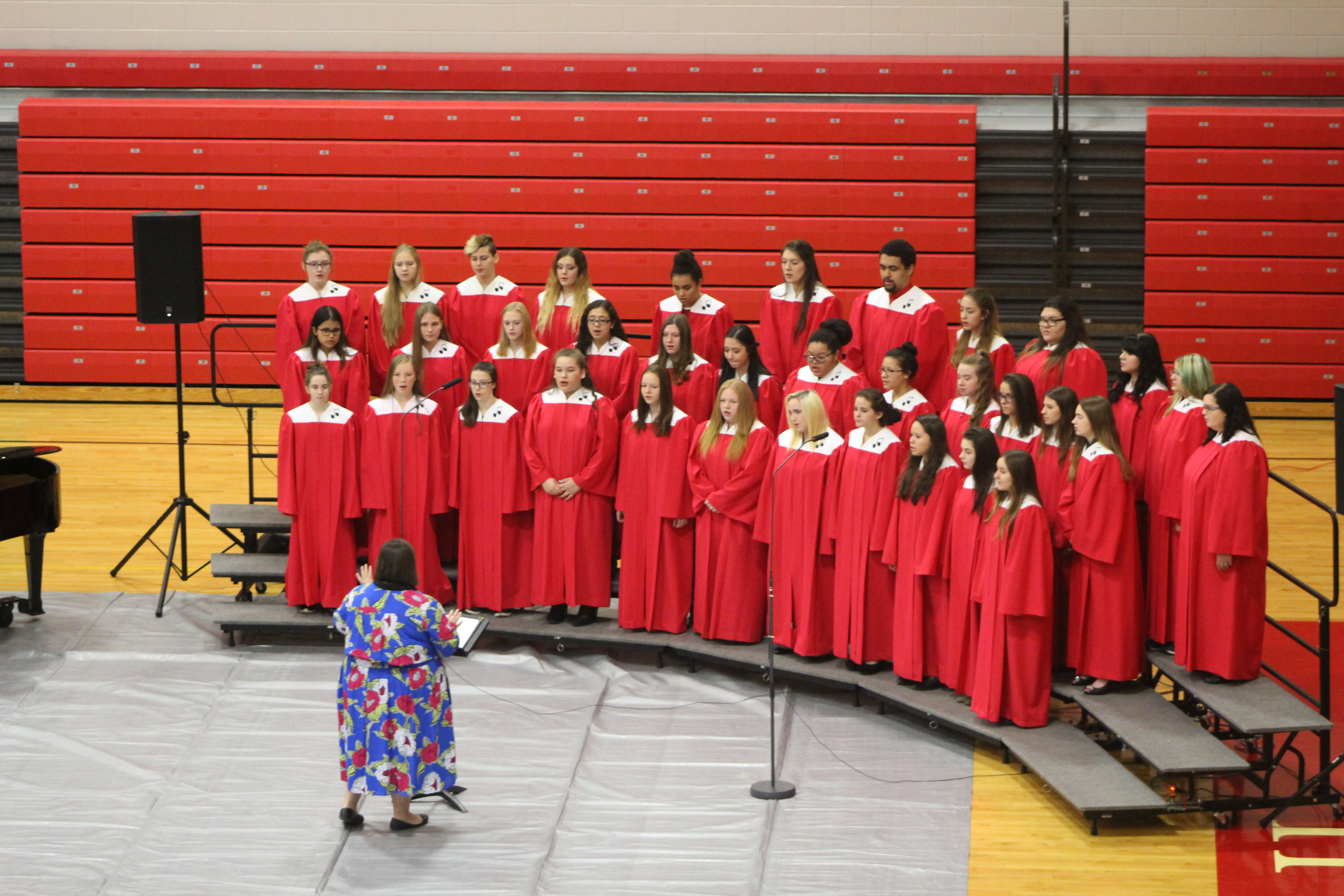 HS Choir at Veteran's Day Program