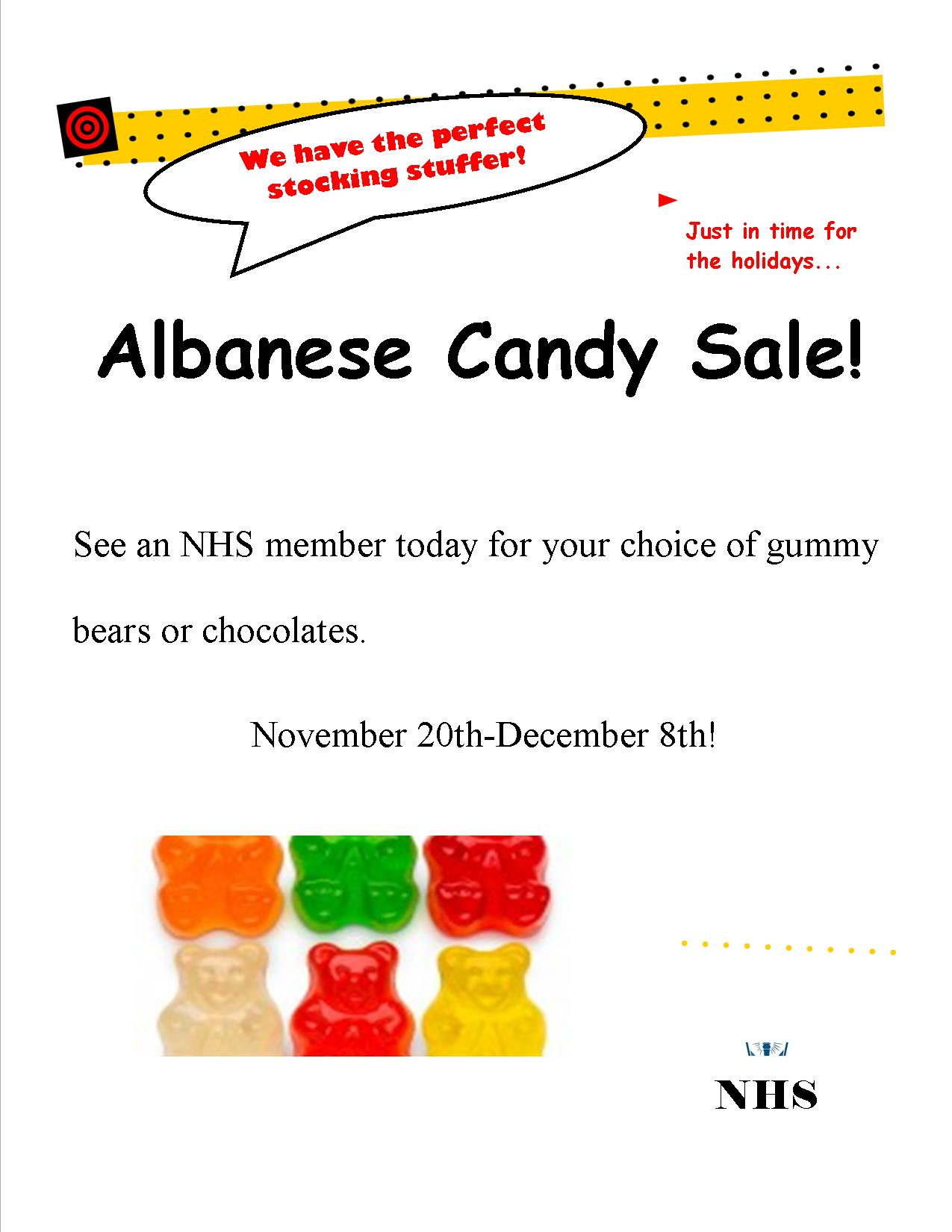 Albanese Gummy Candy Fundraiser